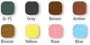 sunlens shade colours
