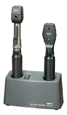 1 Handle Ophthalmoscope and Retinoscope Set